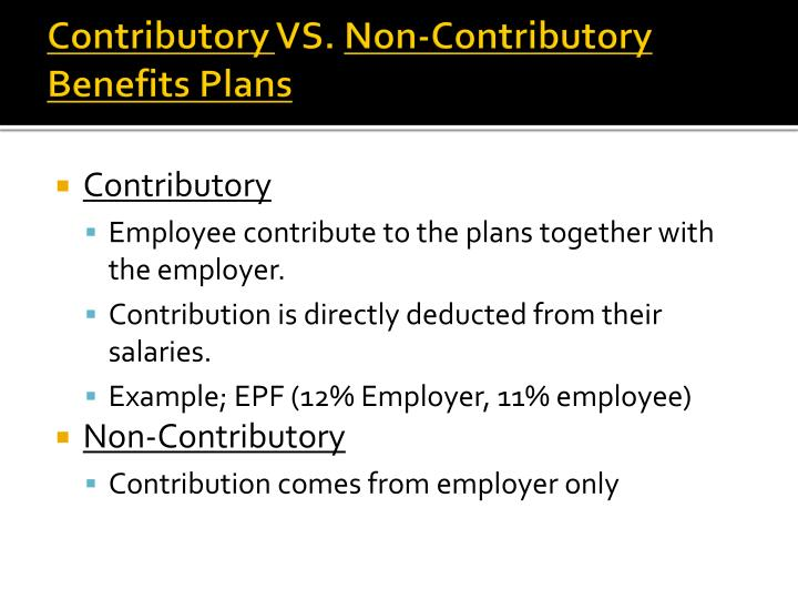 Contributory