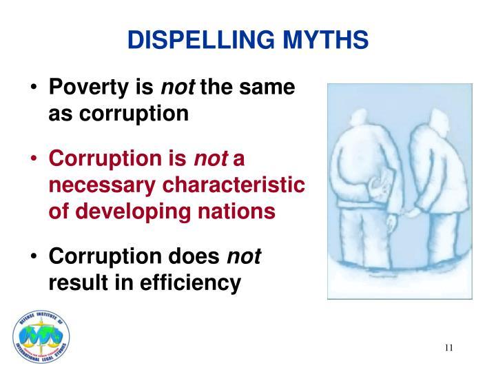 DISPELLING MYTHS