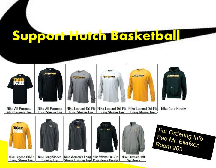 Support Hutch Basketball