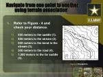 navigate from one point to another using terrain association11