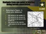 navigate from one point to another using terrain association8