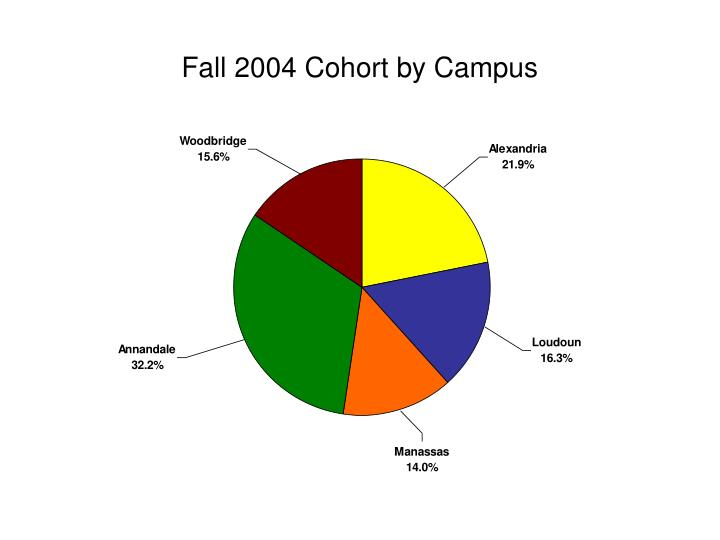 Fall 2004 Cohort by Campus