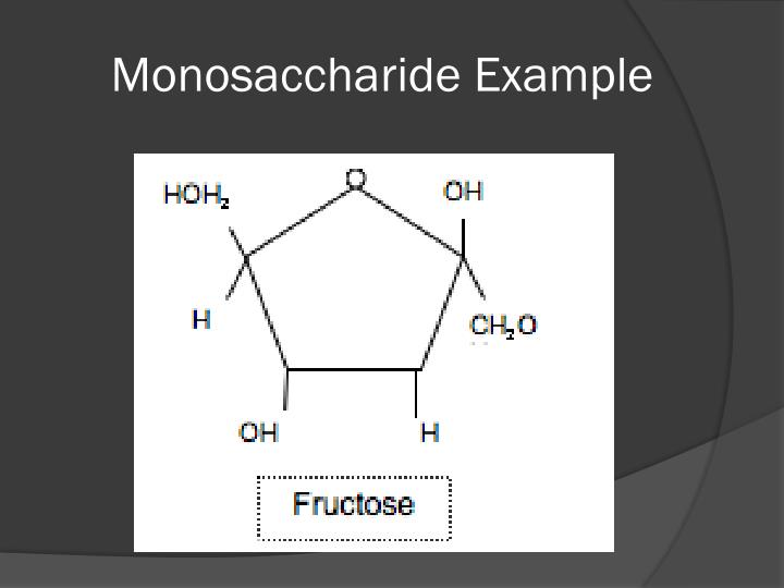 Monosaccharide Example