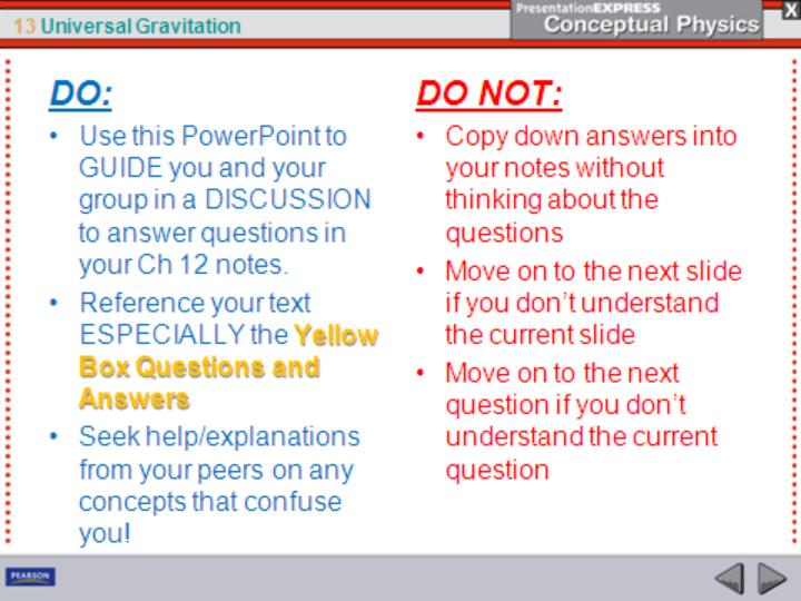 Instructions on using this powerpoint