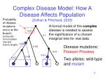 complex disease model how a disease affects population zollner pritchard 2005
