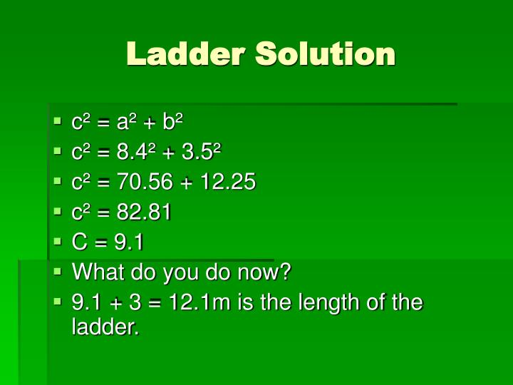 Ladder Solution