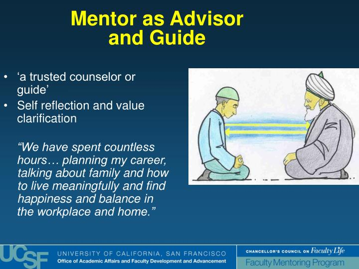 Mentor as Advisor