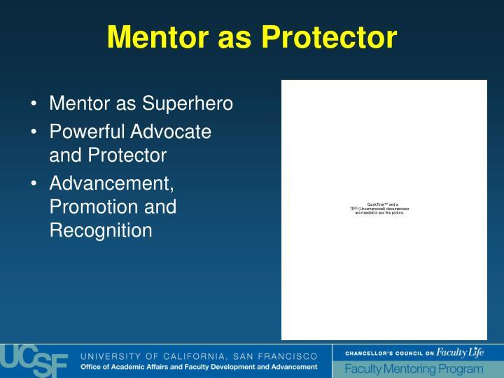 Mentor as Protector