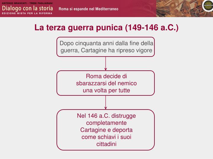 La terza guerra punica (149-146 a.C.)
