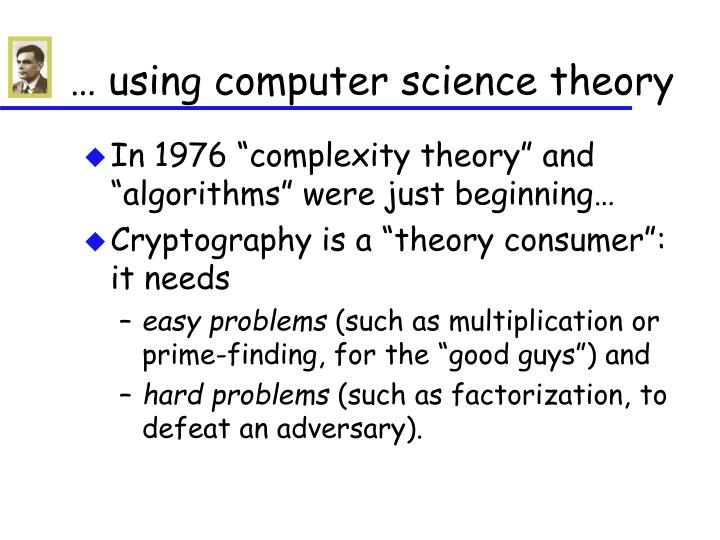 … using computer science theory