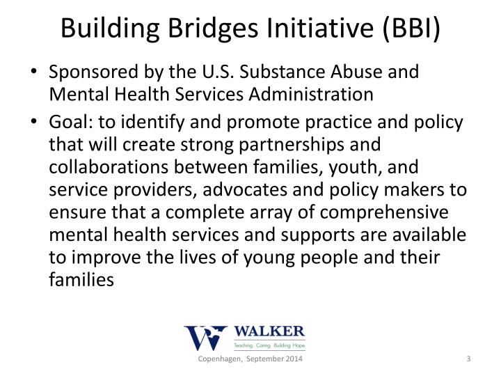 Building Bridges Initiative (BBI)