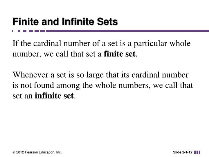 Finite and Infinite Sets