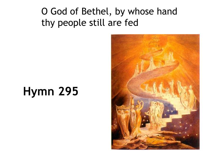 O God of Bethel, by whose hand