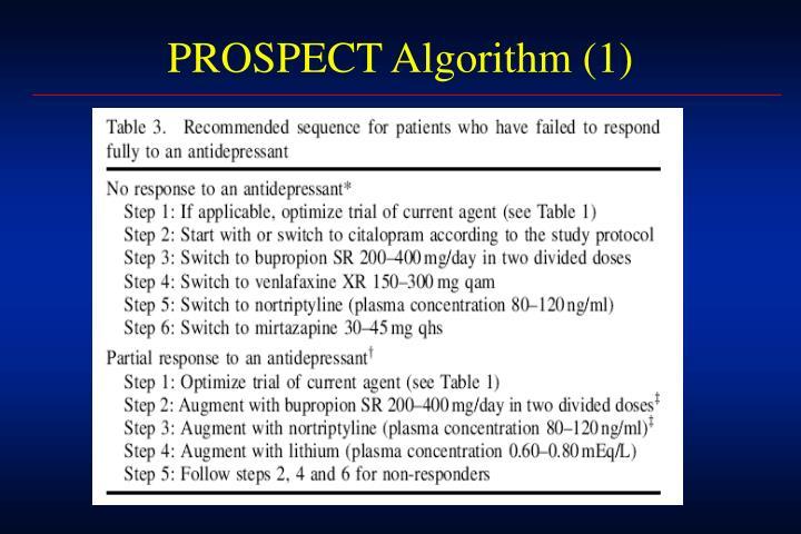PROSPECT Algorithm (1)