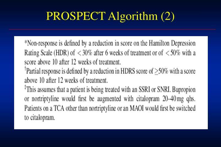 PROSPECT Algorithm (2)