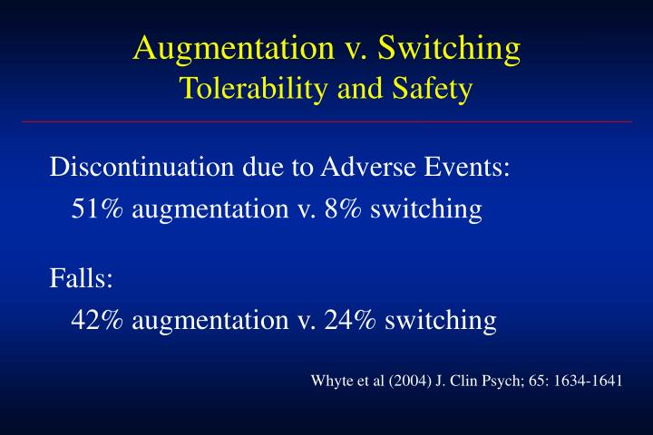 Augmentation v. Switching