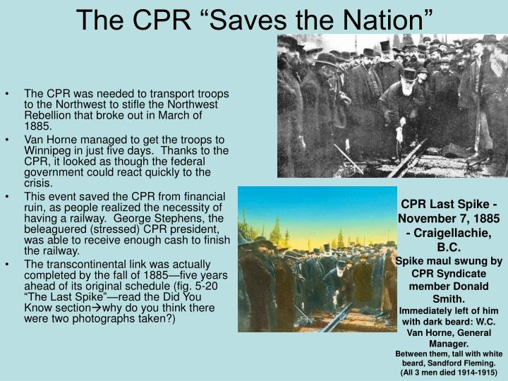 "The CPR ""Saves the Nation"""