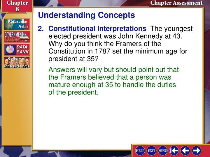 Understanding Concepts