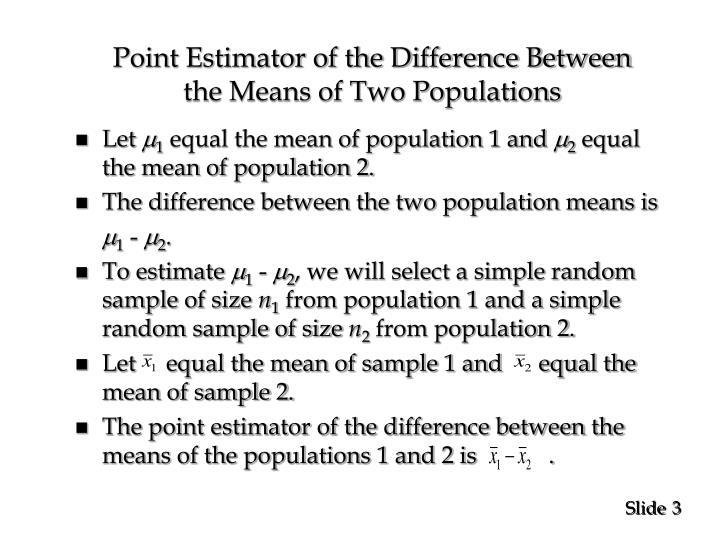 statistical inference about means and proportions Know what the a-level means learn how to use test statistics to examine  hypothesis about population mean, proportion inference use a random sample  to.