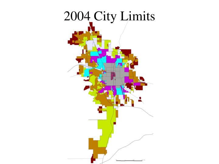 2004 City Limits