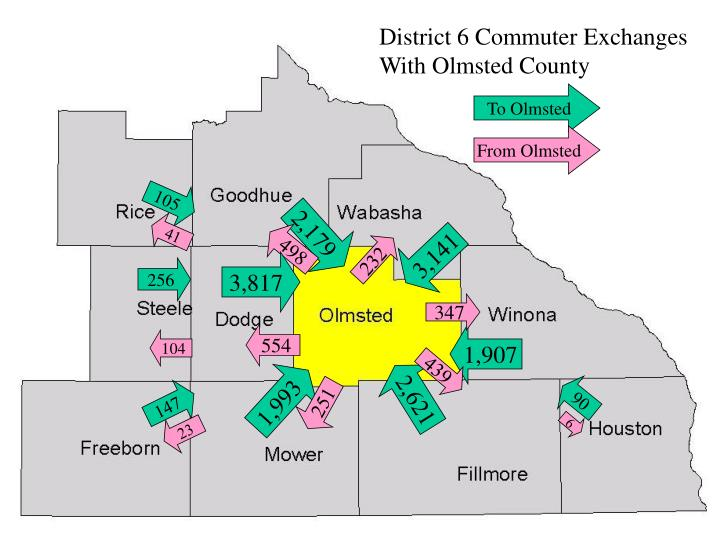 District 6 Commuter Exchanges