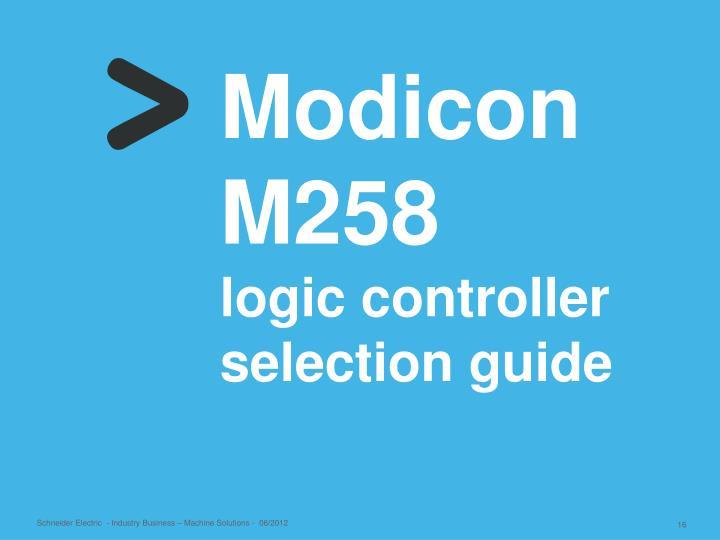 Modicon M258