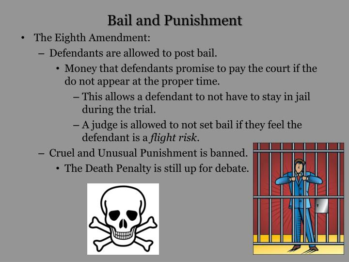 Bail and Punishment