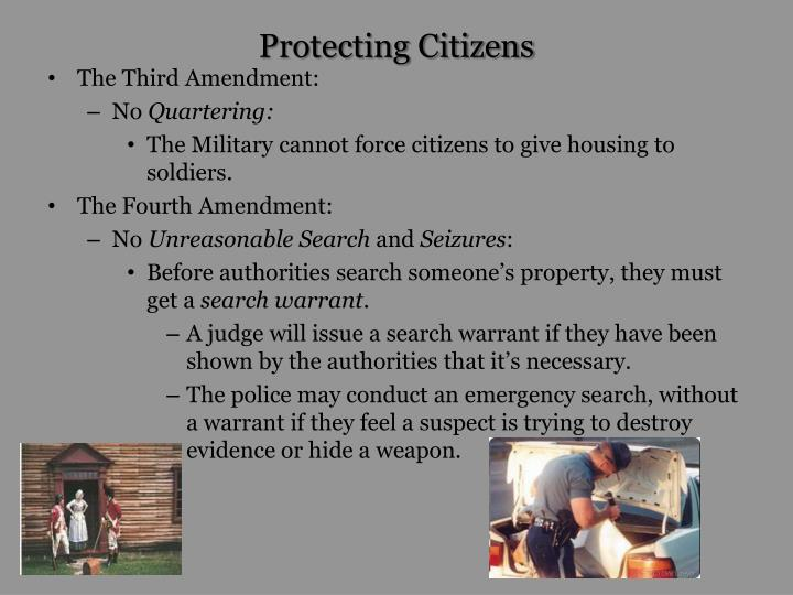 Protecting Citizens