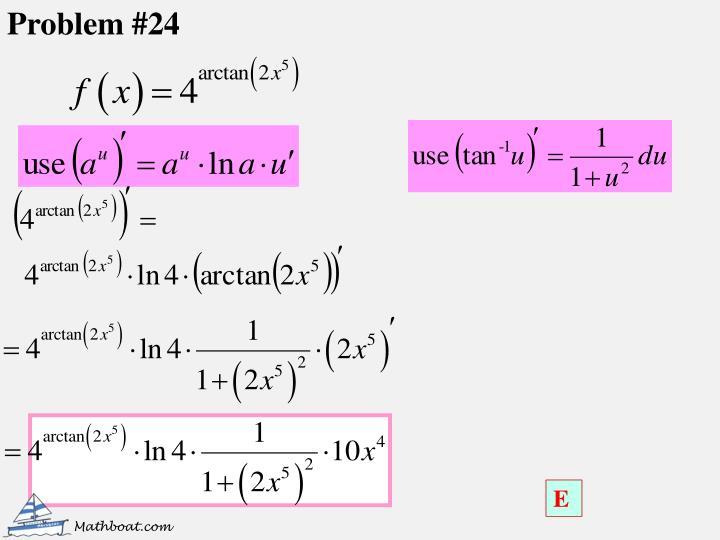 Problem #24