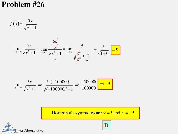 Problem #26