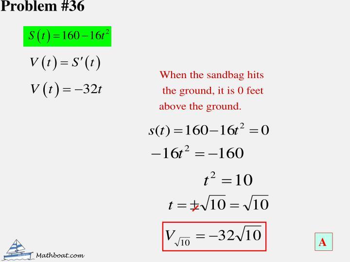 Problem #36