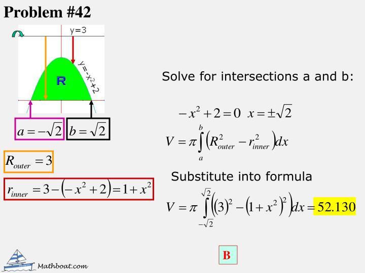 Problem #42