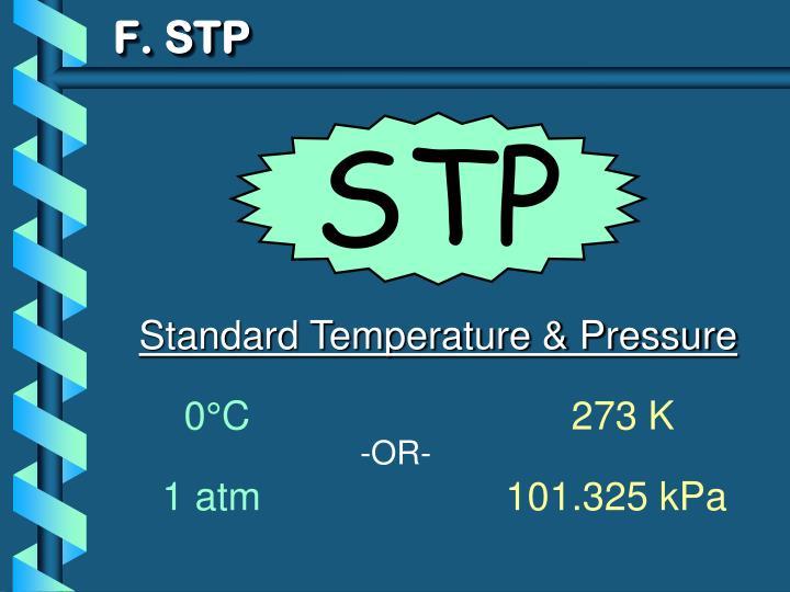 F. STP