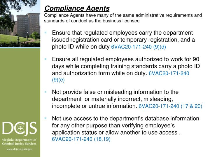 Compliance Agents