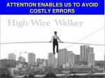 attention enables us to avoid costly errors