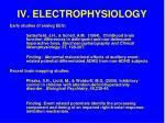 iv electrophysiology