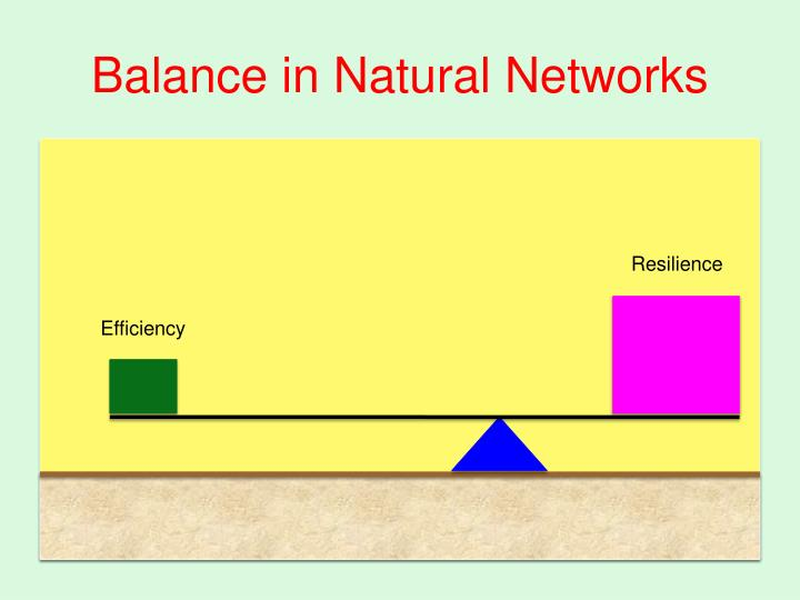 Balance in Natural Networks