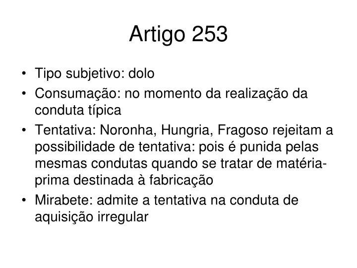Artigo 253