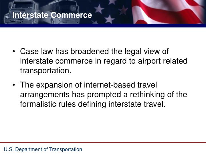 Interstate commerce