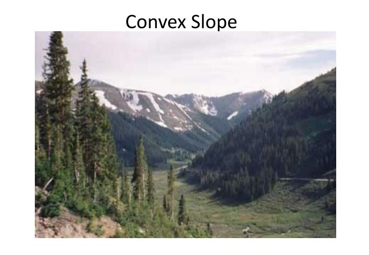 Convex Slope