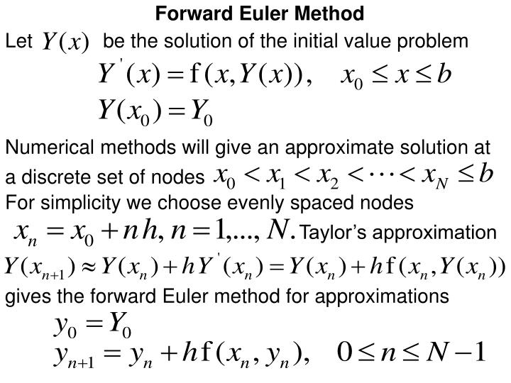 Forward Euler Method