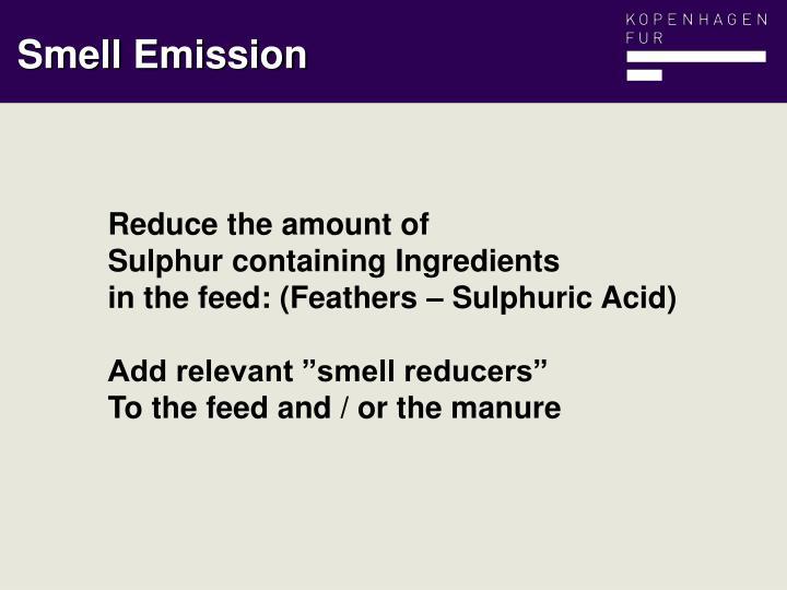 Smell Emission