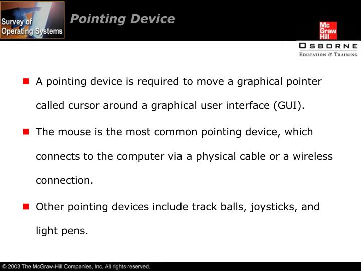 Pointing Device