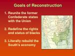 goals of reconstruction