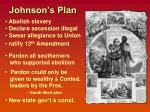 johnson s plan
