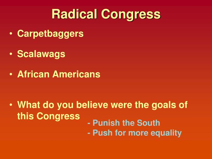 Radical Congress