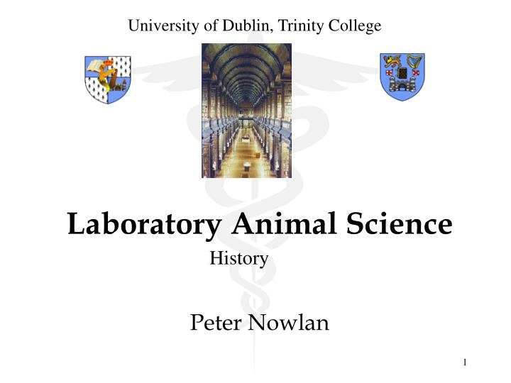 Laboratory animal science