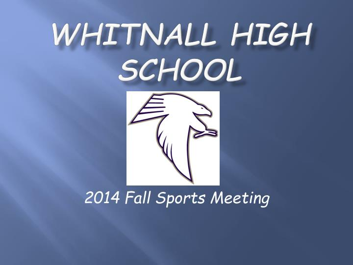 Whitnall High School