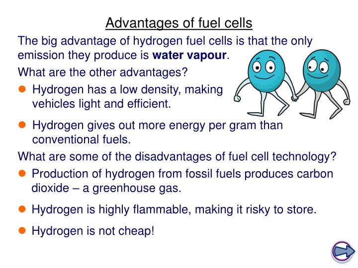hydrogen fuel cell benefits and limitations essay Can hydrogen be the fuel of the future  engines or fuel cells producing virtually  no  concerns the advantages of hydrogen and the.