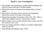 boyle s law investigation